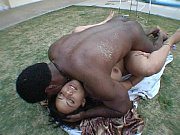 brunette hos getting black cock