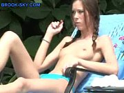 Young Sun Bather Strips