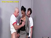 Black Babe Stripped By Group of White Guys