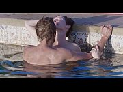 Tilda Swinton and Matthias Schoenaerts sex scene in the pool in A Bigger Splash