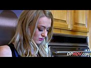 smoking blonde fucked in kitchen 2.