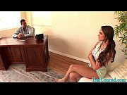 Sexy Teal Conrad Fucks the Dean With her Step Mom!
