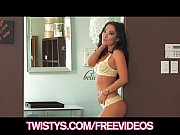 Asa Akira fucks her big ass with her new sex-toys