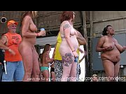 amateur strip contest at iowa biker rally