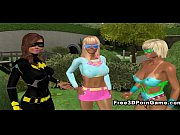 Two stunning 3D cartoon lesbian hotties doing the deed