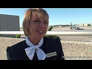 Picture Pantyhose Footjob - Flight Attendants Little...