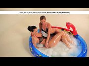 wet lesbian teens in the pool