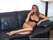 Masturbation instructor is smoking while teasing men