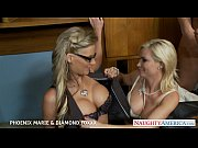 Blondes Phoenix Marie and Diam