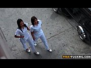 Asian Nurses Share A White Dic