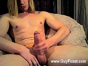 Sexy gay Cute, towheaded haired Lukas is back on cam again is an