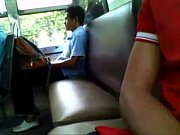 Guy Caught Jerking On The Buss - Busted!