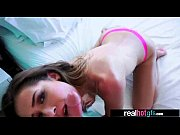 Real Hot Cute GF (melissa moore) Bang Hard On Camera clip-23