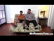cole gets foot worship from big muscled and.