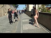 crazy babe rossa naked on public.