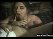 sexy mother gives a blowjob at.