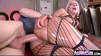 Kinky Hot Girl (kate england) With Big Butt Get Oiled And Anal Nailed video-12
