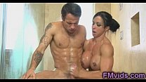 Jewels Jade nice shower handjob