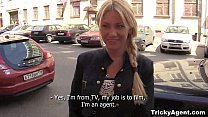 Tricky Agent - Modest tube8 blondy turns to be ...