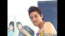 Solo latino twink Janiro with a big dick loves ...