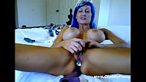 Busty Mature Masturbating For Young Guys On Web...