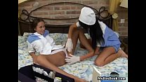 Sonia Red and Vanessa explore their kinky sides wi