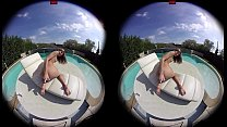 rtualporndesire   gina gerson plays by the pool 180 vr 60 fps