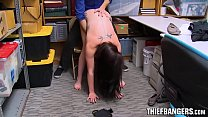 Slutty Teen Thief Raven Reign Spreads Pussy For...