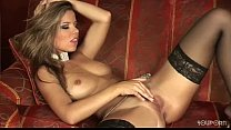 Peaches strips and plays with herself (woocamss...