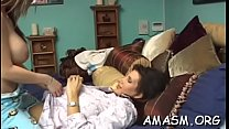 Excellent smothering home porn with excited couple
