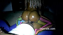 Extreme Dick riding Ghetto hood chick