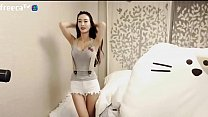 Sexy Korean girl's cam show!