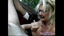 onde grandmother getting fucked
