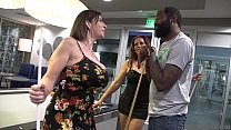 Very HOT MILF's Interracial Sex. - Sara Jay & N...