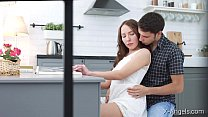 X-Angels.com - Linda Weasley - Spicy kitchen sex