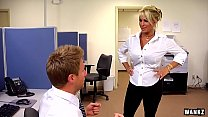wankz  holly halston is the ultimate milf boss