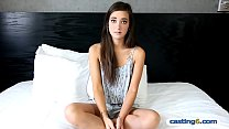 petite teen amateur bangs for 1000 dollars at a casting
