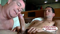 Horny amateurs exchanging blowjobs and fucking assholes