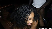 Tampa Theater Sluts - 18yo ebony teen shorty in...