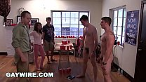 GAYWIRE - College Frat Pledges Get Hazed and Hu...