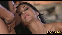 Beautiful busty MILF Ava Addams outdoor thumb