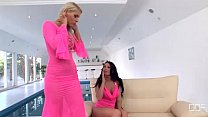Dildo pleasures in the Ass from Antonia and Bra...