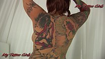 BlackwidowXXX- Jodi - Full Body tattoos view PRomo