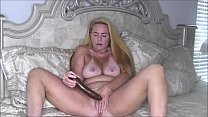 Download video bokep Sexy Blonde MILF Nikki Naked Dildo Fuck 3gp terbaru