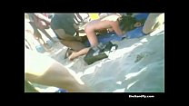 theSandfly Naked Public Beach Games!