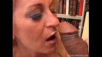 cougar in stockings loves to fuck