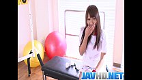 Workout Girl Suzu Minamoto Works Her Pussy With...