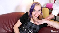 FakeShooting Blonde teenager is totally bored w...
