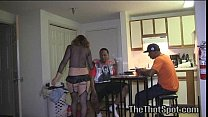 White Bitch At The Trap House