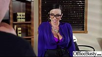 Busty Girl (ariella danica) Get Hard Style Nailed In Office vid-06
